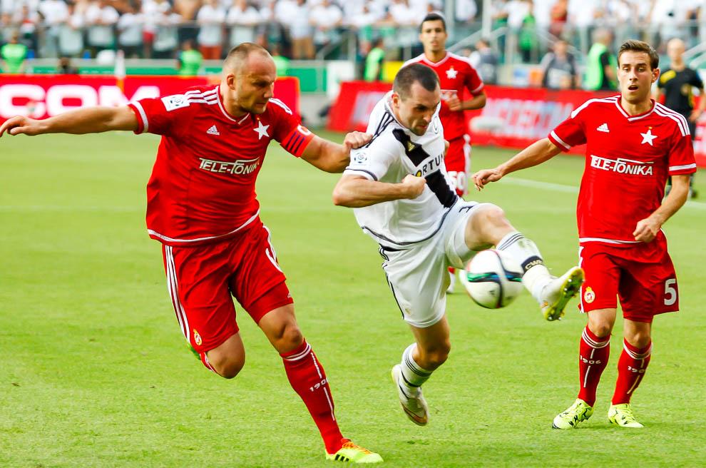 Legia Warszawa 1-1 Wisła Kraków - fot. Piotr Galas/wiadomosci24.pl (zdjęcie 63 z 76)
