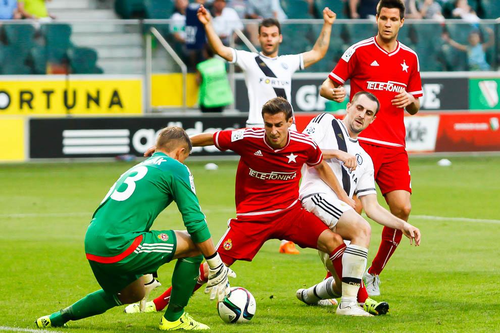 Legia Warszawa 1-1 Wisła Kraków - fot. Piotr Galas/wiadomosci24.pl (zdjęcie 67 z 76)