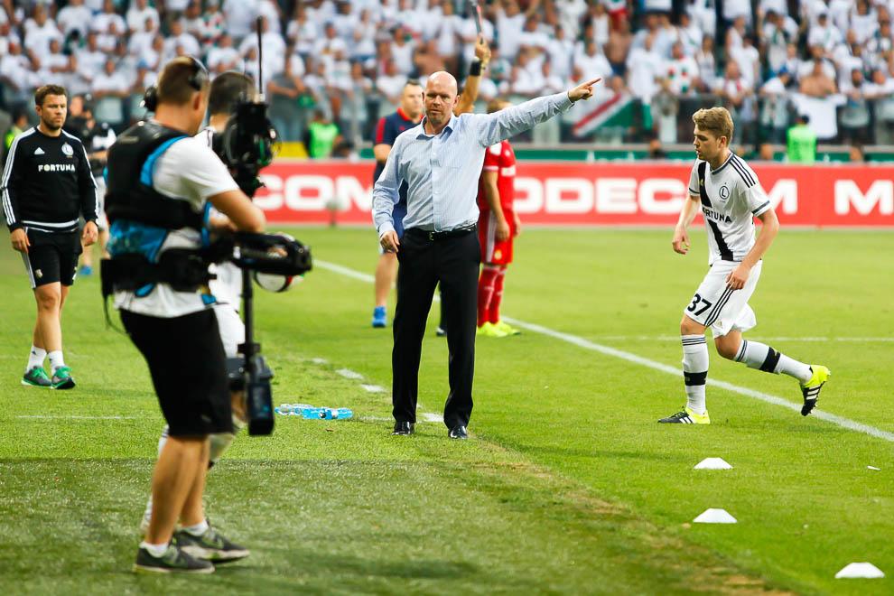 Legia Warszawa 1-1 Wisła Kraków - fot. Piotr Galas/wiadomosci24.pl (zdjęcie 75 z 76)