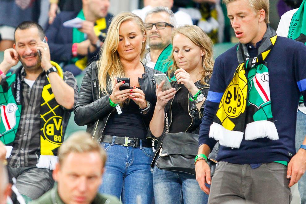 Legia Warszawa 0-6 Borussia Dortmund - fot. Piotr Galas/wiadomosci24.pl (zdjęcie 13 z 77)
