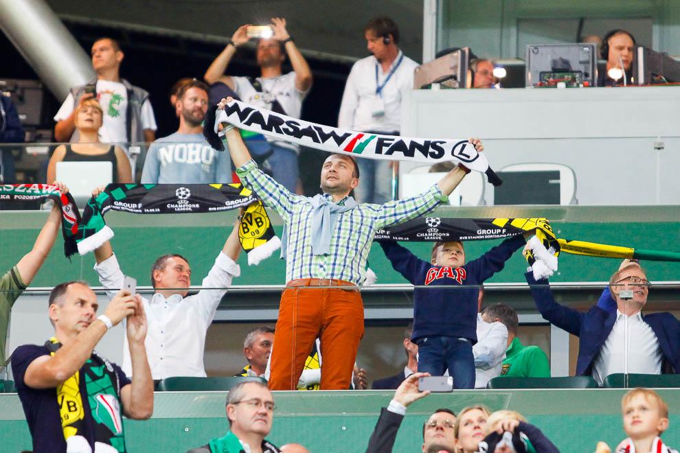 Legia Warszawa 0-6 Borussia Dortmund - fot. Piotr Galas/wiadomosci24.pl (zdjęcie 17 z 77)