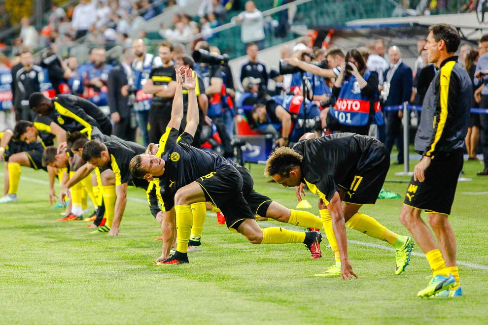 Legia Warszawa 0-6 Borussia Dortmund - fot. Piotr Galas/wiadomosci24.pl (zdjęcie 2 z 77)