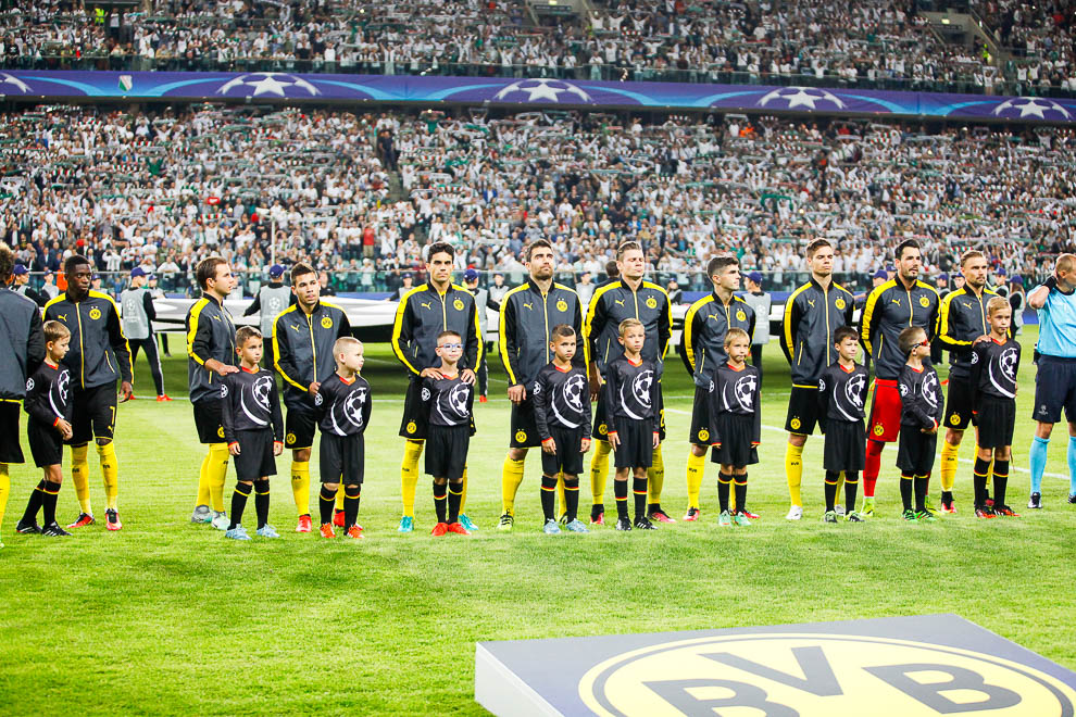 Legia Warszawa 0-6 Borussia Dortmund - fot. Piotr Galas/wiadomosci24.pl (zdjęcie 21 z 77)