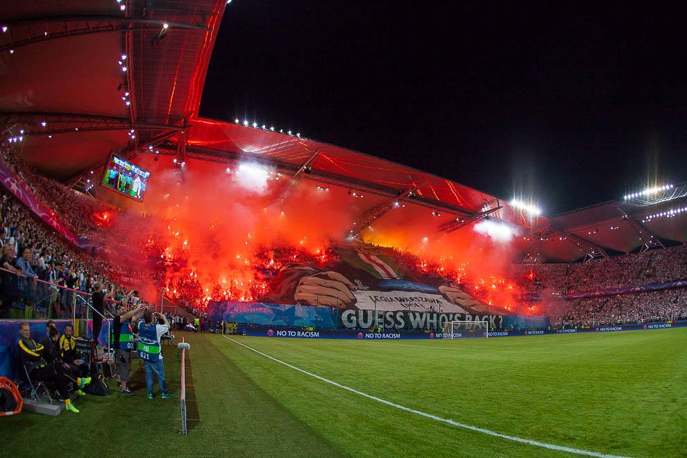 Legia Warszawa 0-6 Borussia Dortmund - fot. Piotr Galas/wiadomosci24.pl (zdjęcie 27 z 77)