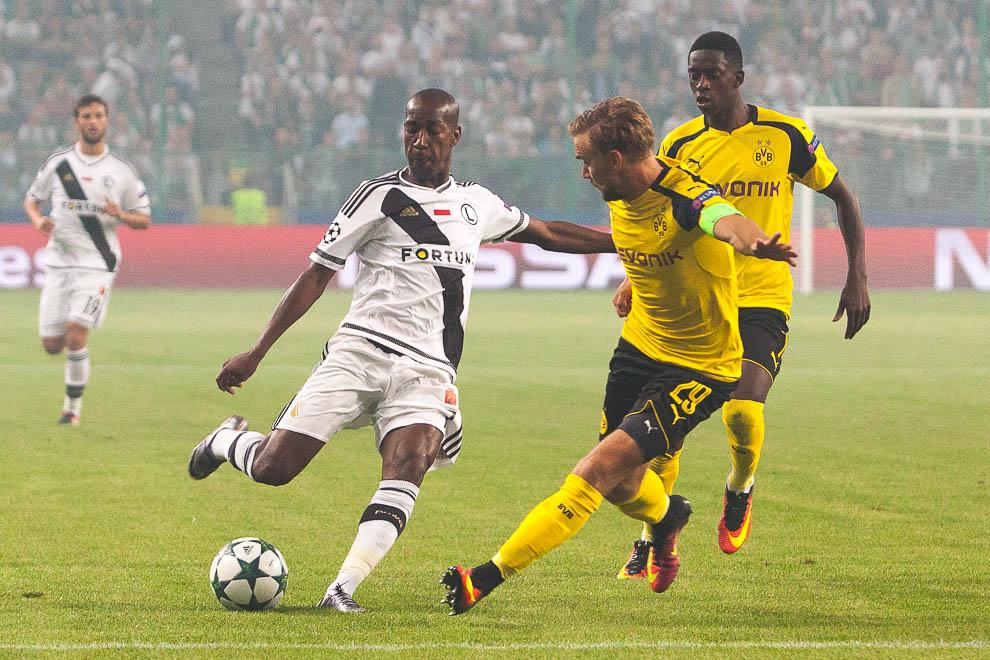 Legia Warszawa 0-6 Borussia Dortmund - fot. Piotr Galas/wiadomosci24.pl (zdjęcie 29 z 77)
