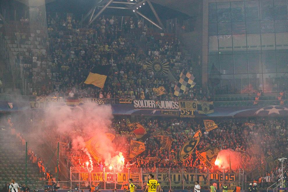 Legia Warszawa 0-6 Borussia Dortmund - fot. Piotr Galas/wiadomosci24.pl (zdjęcie 30 z 77)