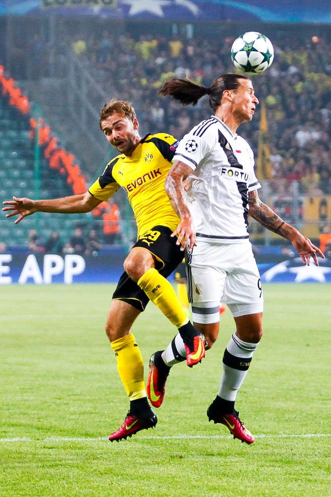 Legia Warszawa 0-6 Borussia Dortmund - fot. Piotr Galas/wiadomosci24.pl (zdjęcie 32 z 77)