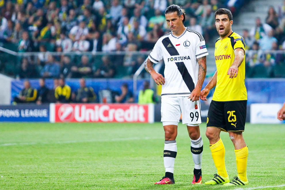 Legia Warszawa 0-6 Borussia Dortmund - fot. Piotr Galas/wiadomosci24.pl (zdjęcie 37 z 77)