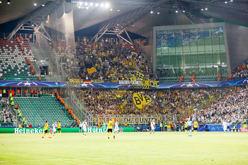 Legia Warszawa 0-6 Borussia Dortmund - fot. Piotr Galas/wiadomosci24.pl (zdjęcie 39 z 77)