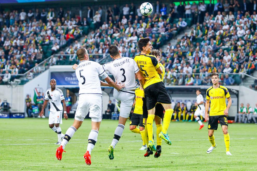Legia Warszawa 0-6 Borussia Dortmund - fot. Piotr Galas/wiadomosci24.pl (zdjęcie 41 z 77)
