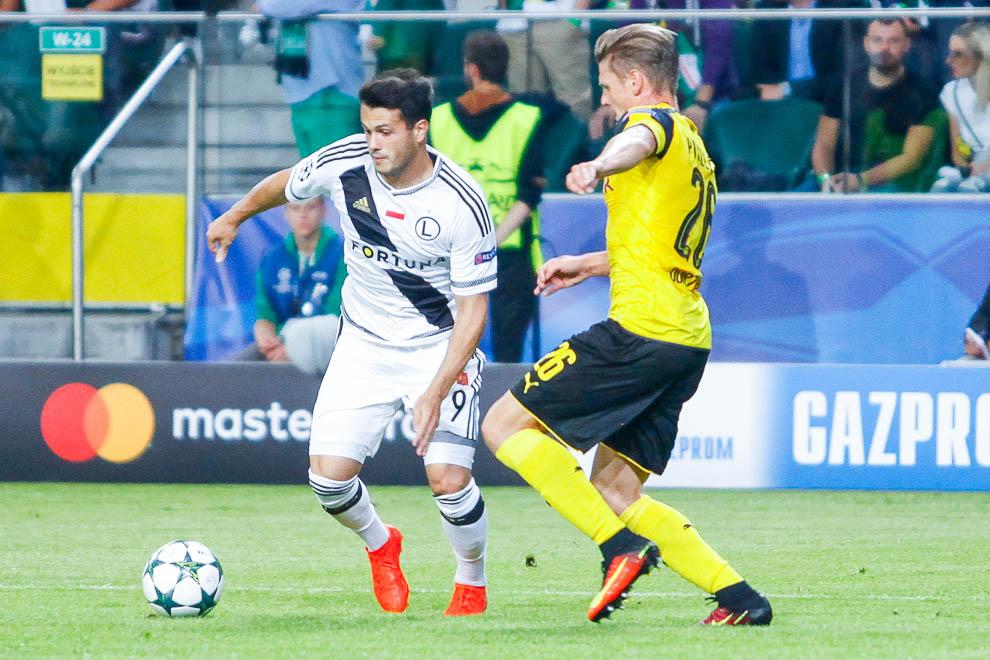 Legia Warszawa 0-6 Borussia Dortmund - fot. Piotr Galas/wiadomosci24.pl (zdjęcie 45 z 77)