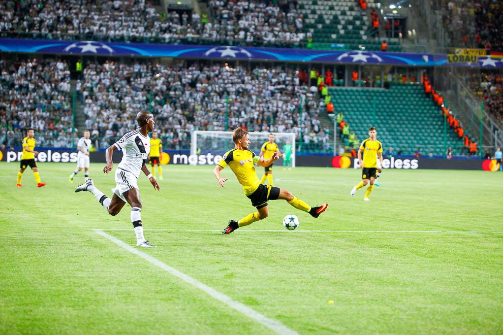 Legia Warszawa 0-6 Borussia Dortmund - fot. Piotr Galas/wiadomosci24.pl (zdjęcie 49 z 77)