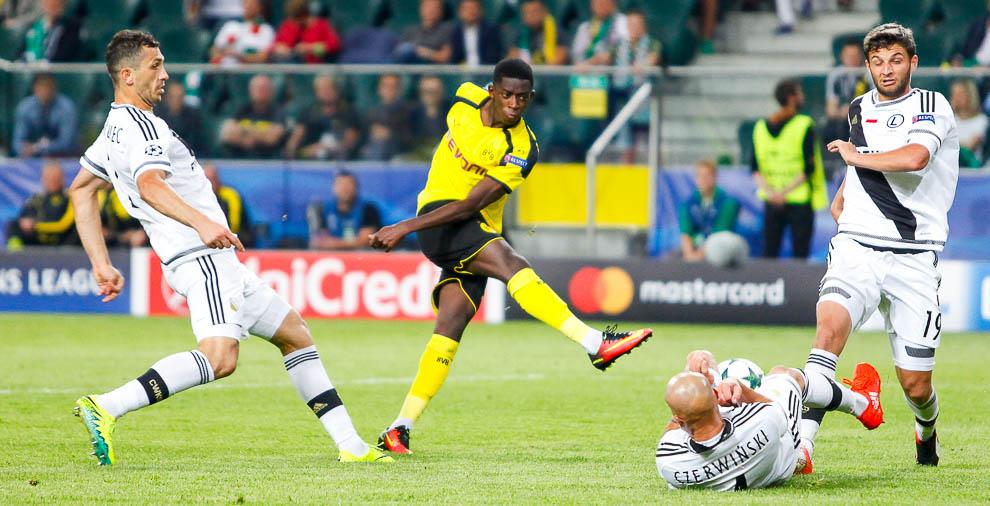 Legia Warszawa 0-6 Borussia Dortmund - fot. Piotr Galas/wiadomosci24.pl (zdjęcie 56 z 77)