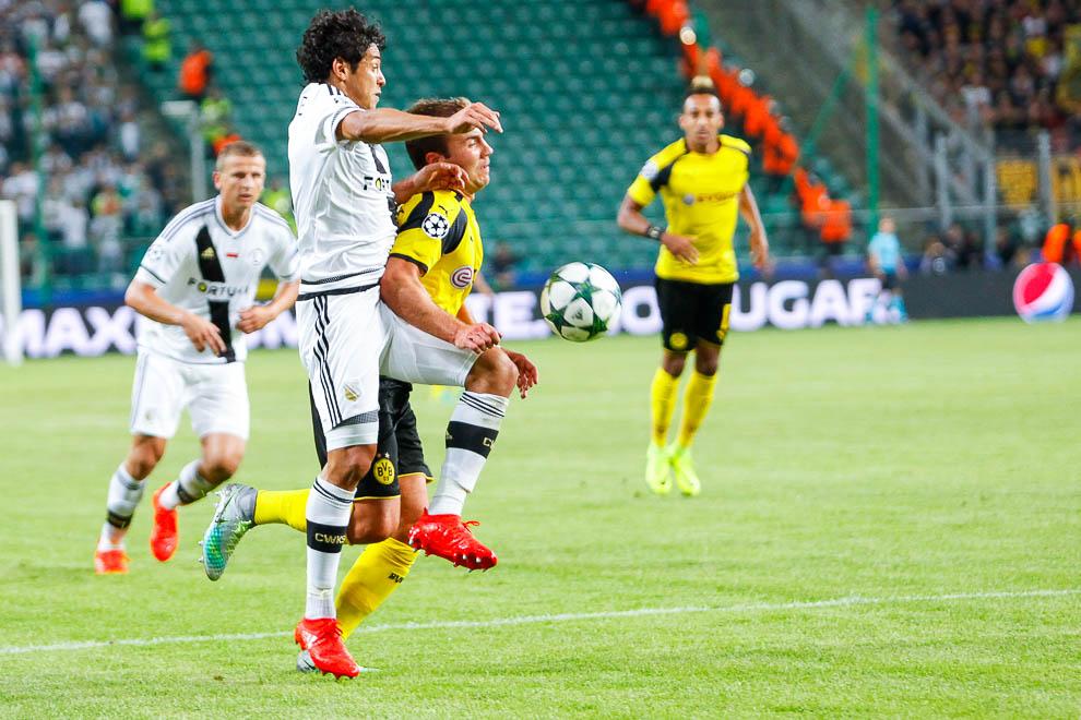 Legia Warszawa 0-6 Borussia Dortmund - fot. Piotr Galas/wiadomosci24.pl (zdjęcie 57 z 77)