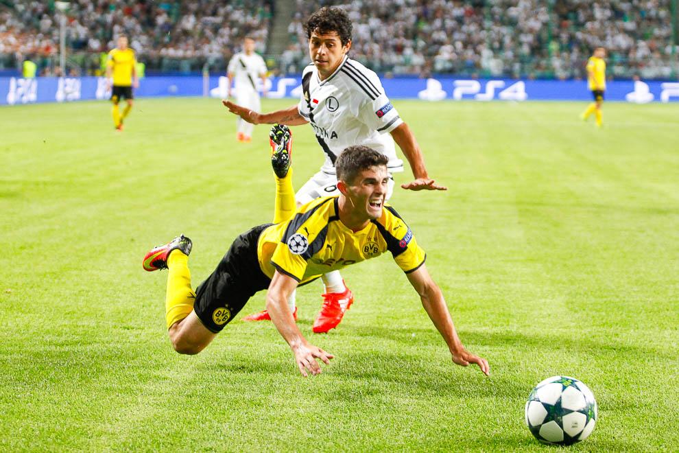 Legia Warszawa 0-6 Borussia Dortmund - fot. Piotr Galas/wiadomosci24.pl (zdjęcie 59 z 77)