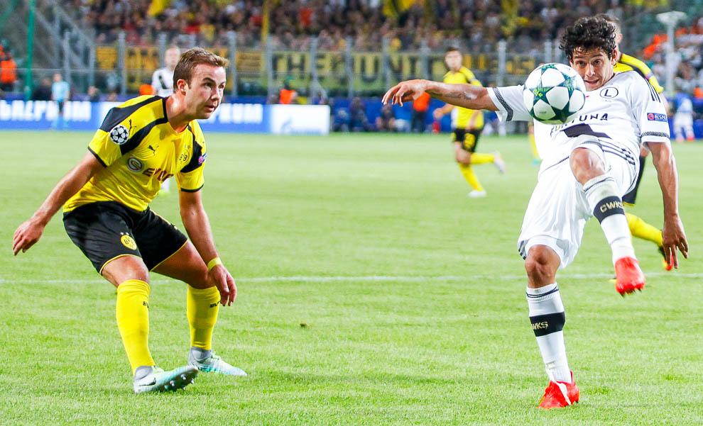 Legia Warszawa 0-6 Borussia Dortmund - fot. Piotr Galas/wiadomosci24.pl (zdjęcie 61 z 77)