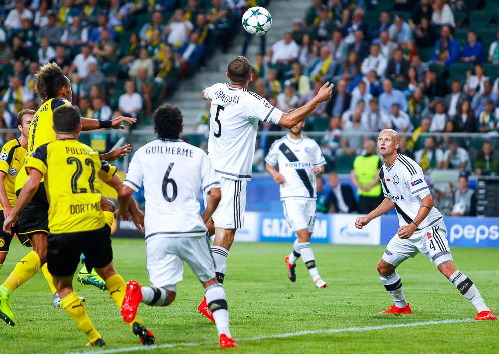 Legia Warszawa 0-6 Borussia Dortmund - fot. Piotr Galas/wiadomosci24.pl (zdjęcie 62 z 77)