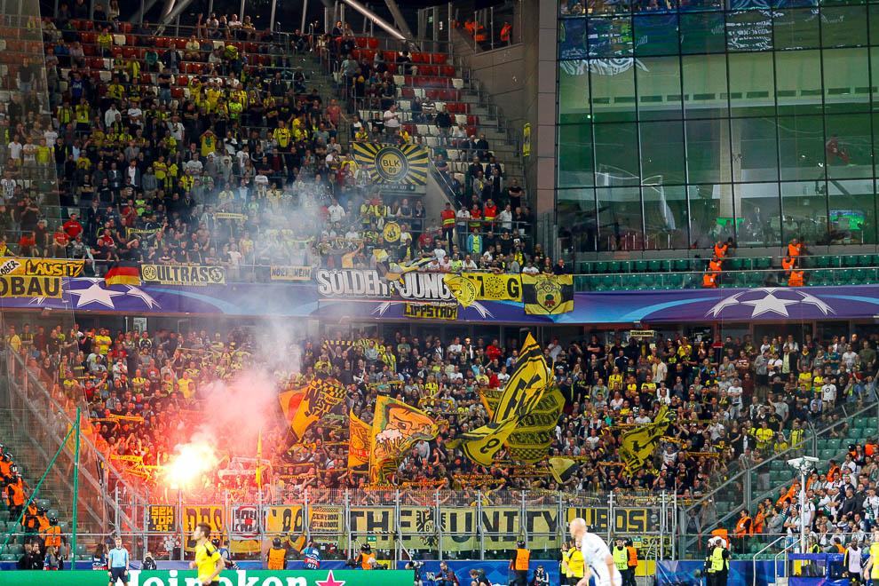 Legia Warszawa 0-6 Borussia Dortmund - fot. Piotr Galas/wiadomosci24.pl (zdjęcie 69 z 77)