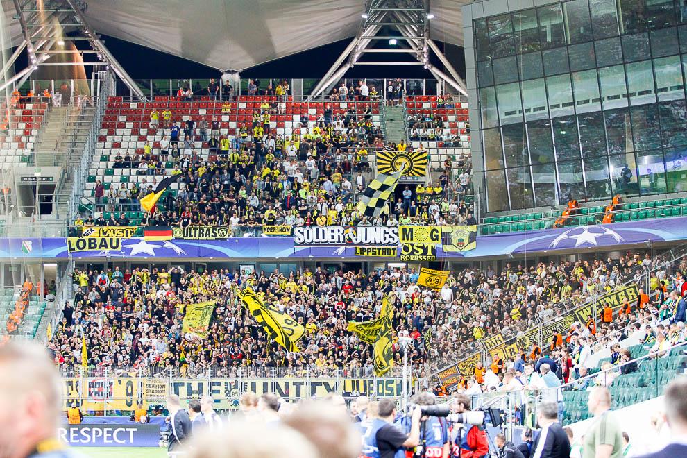 Legia Warszawa 0-6 Borussia Dortmund - fot. Piotr Galas/wiadomosci24.pl (zdjęcie 9 z 77)