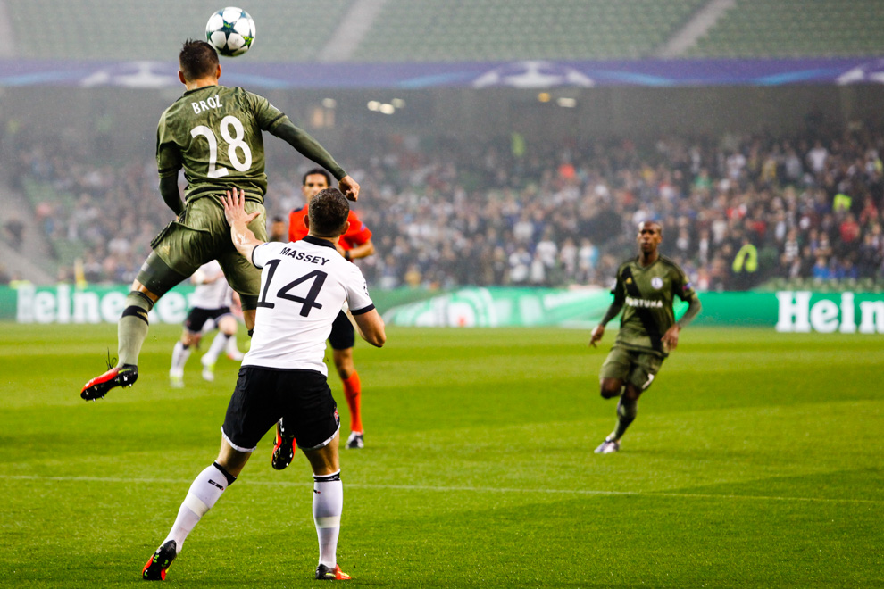 Dundalk FC 0-2 Legia Warszawa - fot. Piotr Galas/wiadomosci24.pl (zdjęcie 12 z 57)