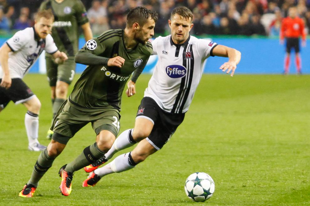 Dundalk FC 0-2 Legia Warszawa - fot. Piotr Galas/wiadomosci24.pl (zdjęcie 16 z 57)