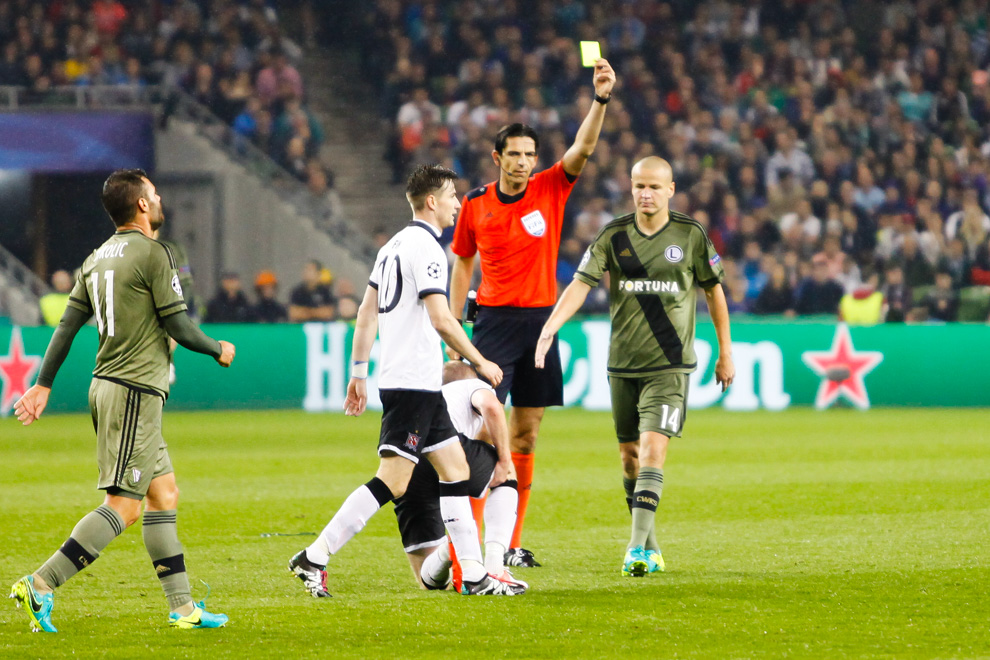 Dundalk FC 0-2 Legia Warszawa - fot. Piotr Galas/wiadomosci24.pl (zdjęcie 38 z 57)