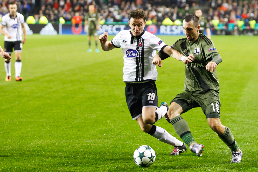 Dundalk FC 0-2 Legia Warszawa - fot. Piotr Galas/wiadomosci24.pl (zdjęcie 44 z 57)