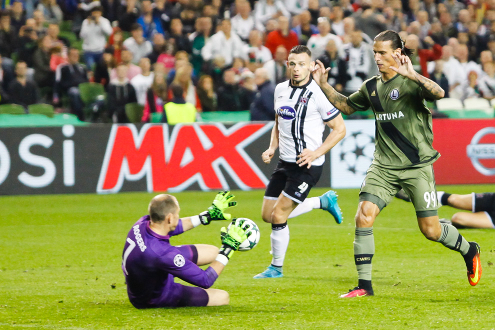 Dundalk FC 0-2 Legia Warszawa - fot. Piotr Galas/wiadomosci24.pl (zdjęcie 46 z 57)
