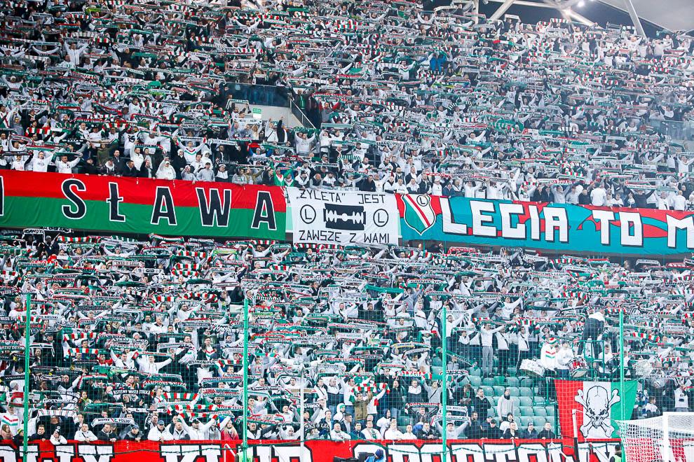 Legia Warszawa 2-1 Lech Poznań - fot. Piotr Galas/wiadomosci24.pl (zdjęcie 4 z 62)