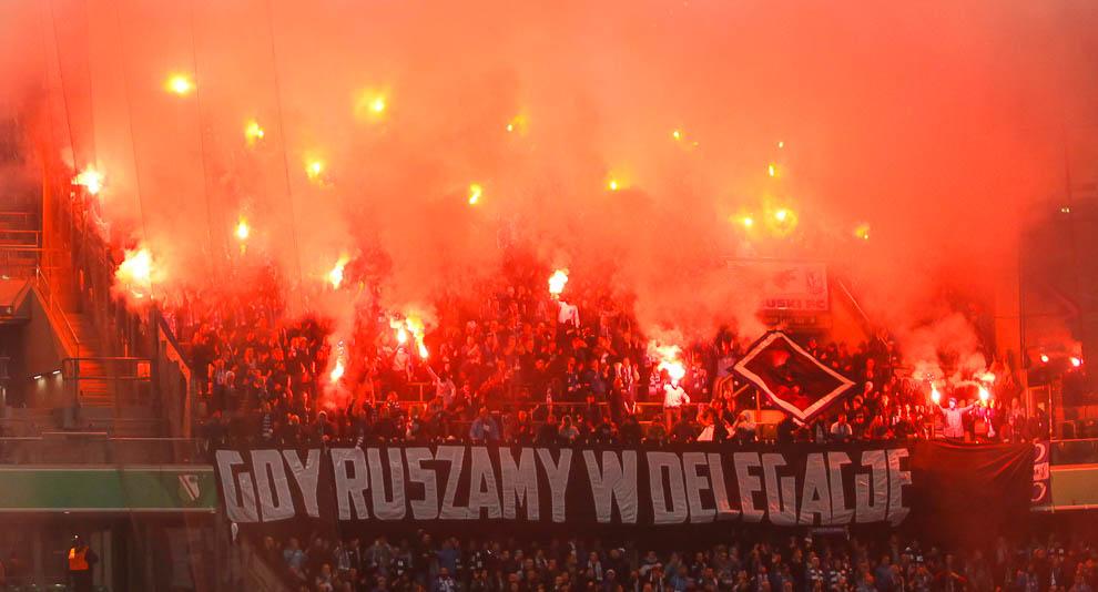 Legia Warszawa 2-1 Lech Poznań - fot. Piotr Galas/wiadomosci24.pl (zdjęcie 40 z 62)
