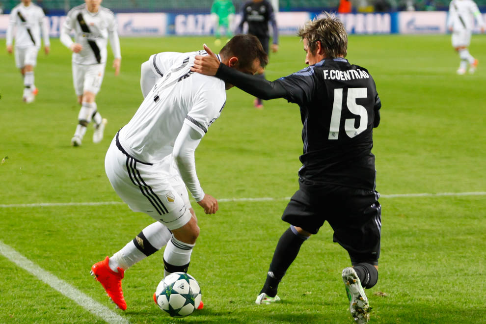 Legia Warszawa 3-3 Real Madryt - fot. Piotr Galas/wiadomosci24.pl (zdjęcie 11 z 42)