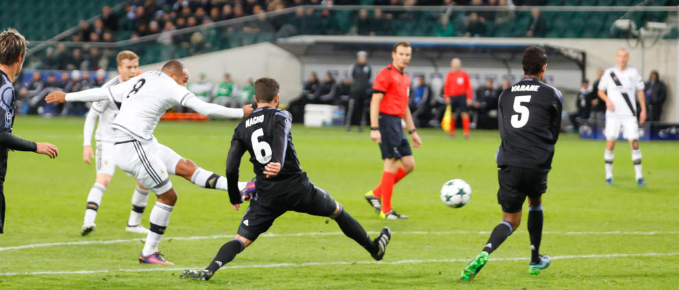 Legia Warszawa 3-3 Real Madryt - fot. Piotr Galas/wiadomosci24.pl (zdjęcie 17 z 42)