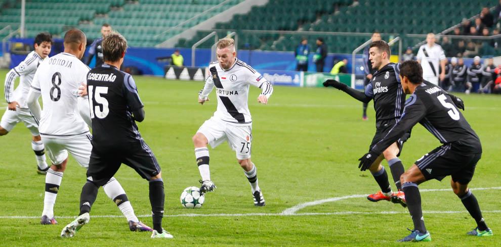 Legia Warszawa 3-3 Real Madryt - fot. Piotr Galas/wiadomosci24.pl (zdjęcie 21 z 42)