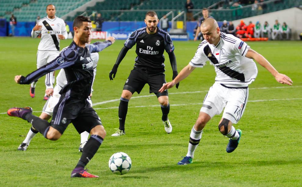 Legia Warszawa 3-3 Real Madryt - fot. Piotr Galas/wiadomosci24.pl (zdjęcie 28 z 42)