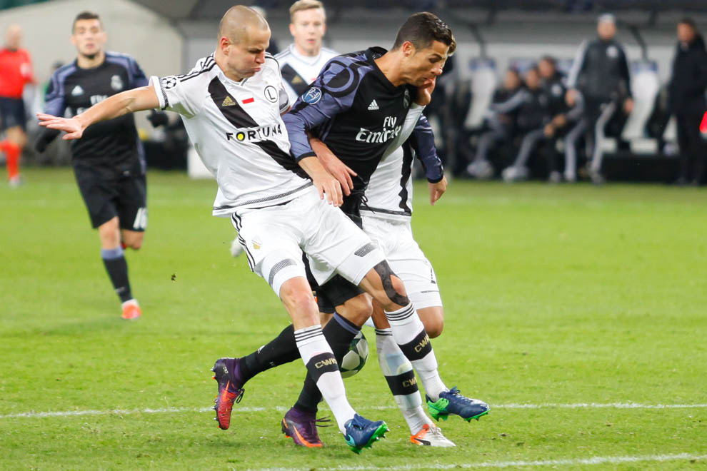 Legia Warszawa 3-3 Real Madryt - fot. Piotr Galas/wiadomosci24.pl (zdjęcie 36 z 42)