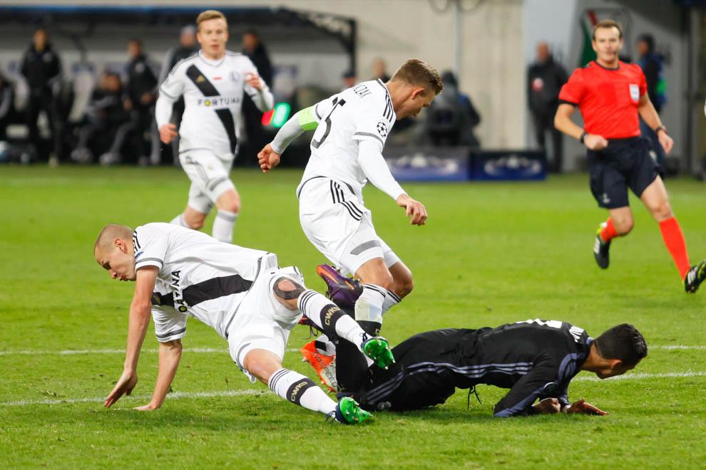 Legia Warszawa 3-3 Real Madryt - fot. Piotr Galas/wiadomosci24.pl (zdjęcie 37 z 42)