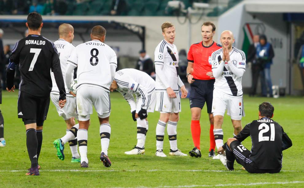 Legia Warszawa 3-3 Real Madryt - fot. Piotr Galas/wiadomosci24.pl (zdjęcie 41 z 42)