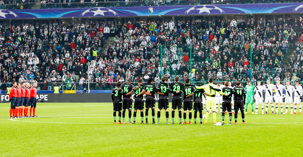 Legia Warszawa 1-0 Sporting Clube de Portugal - fot. Piotr Galas/wiadomosci24.pl (zdjęcie 11 z 27)