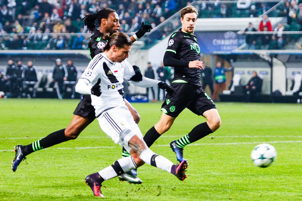 Legia Warszawa 1-0 Sporting Clube de Portugal - fot. Piotr Galas/wiadomosci24.pl (zdjęcie 12 z 27)