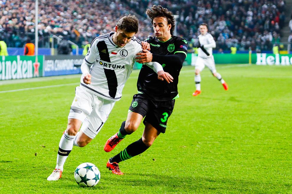 Legia Warszawa 1-0 Sporting Clube de Portugal - fot. Piotr Galas/wiadomosci24.pl (zdjęcie 13 z 27)
