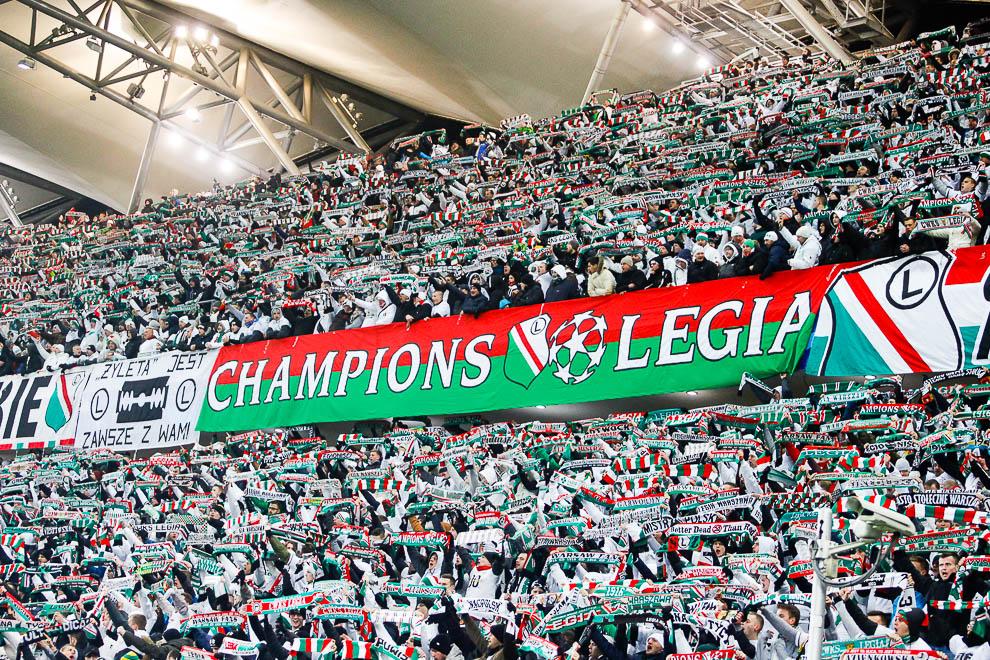 Legia Warszawa 1-0 Sporting Clube de Portugal - fot. Piotr Galas/wiadomosci24.pl (zdjęcie 17 z 27)