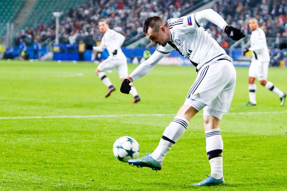 Legia Warszawa 1-0 Sporting Clube de Portugal - fot. Piotr Galas/wiadomosci24.pl (zdjęcie 23 z 27)