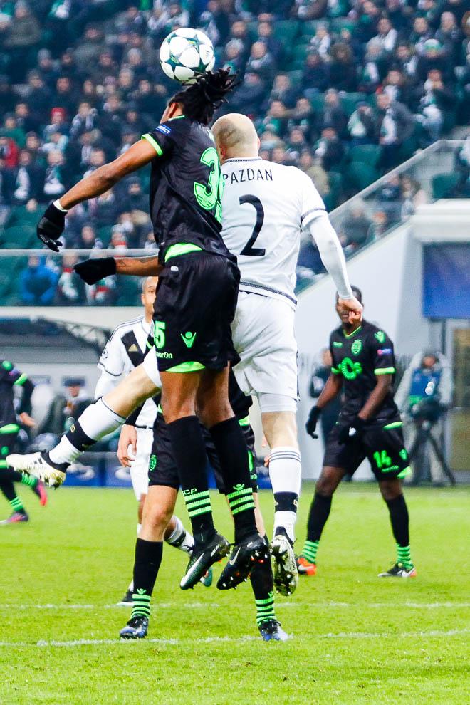 Legia Warszawa 1-0 Sporting Clube de Portugal - fot. Piotr Galas/wiadomosci24.pl (zdjęcie 25 z 27)