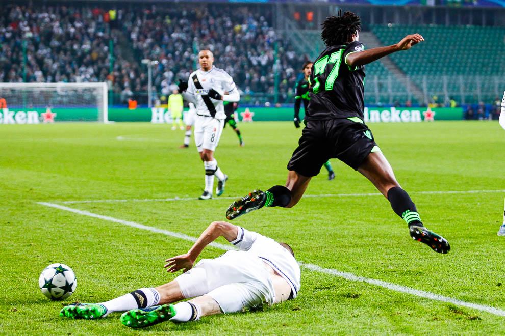 Legia Warszawa 1-0 Sporting Clube de Portugal - fot. Piotr Galas/wiadomosci24.pl (zdjęcie 26 z 27)