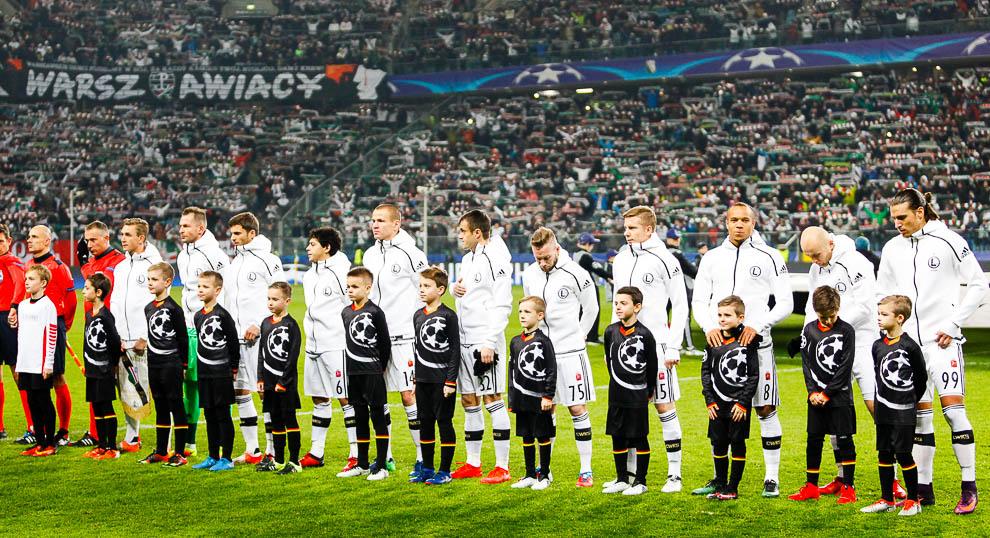 Legia Warszawa 1-0 Sporting Clube de Portugal - fot. Piotr Galas/wiadomosci24.pl (zdjęcie 5 z 27)