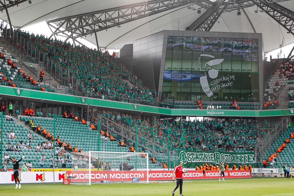 Legia Warszawa 0-0 Lechia Gdańsk - fot. Piotr Galas/wiadomosci24.pl (zdjęcie 2 z 138)