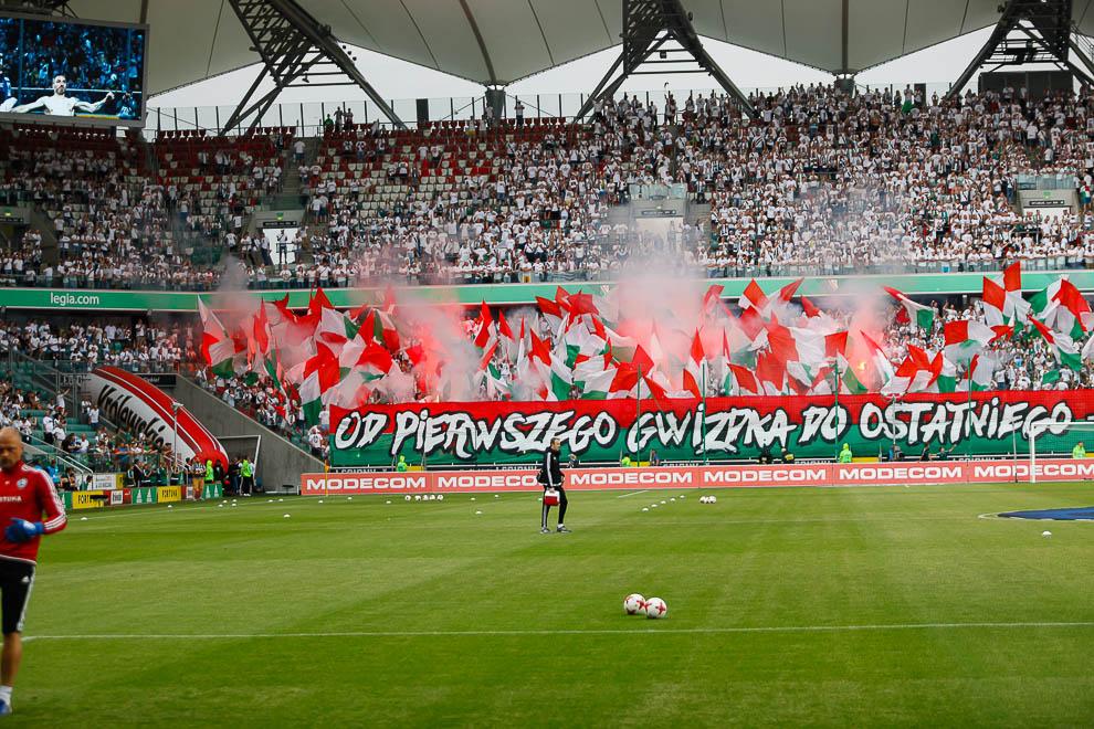 Legia Warszawa 0-0 Lechia Gdańsk - fot. Piotr Galas/wiadomosci24.pl (zdjęcie 6 z 138)