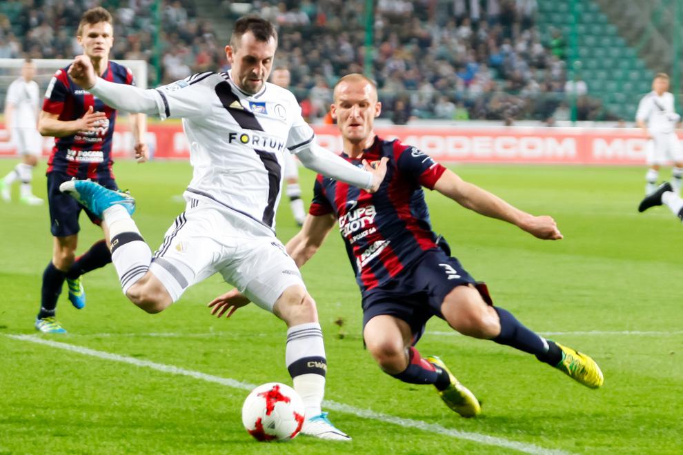 Legia Warszawa 2-0 Pogoń Szczecin - fot. Piotr Galas/wiadomosci24.pl (zdjęcie 14 z 51)