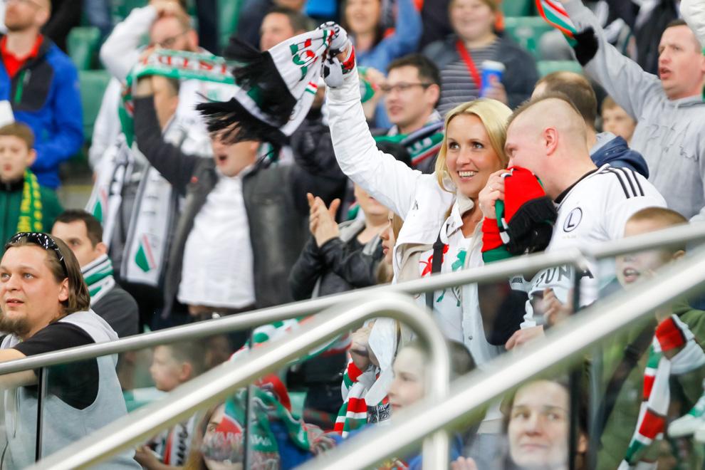 Legia Warszawa 2-0 Pogoń Szczecin - fot. Piotr Galas/wiadomosci24.pl (zdjęcie 37 z 51)