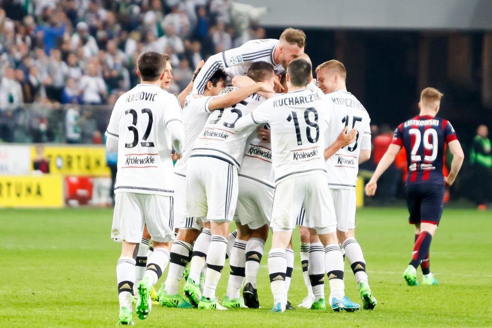 Legia Warszawa 2-0 Pogoń Szczecin - fot. Piotr Galas/wiadomosci24.pl (zdjęcie 40 z 51)